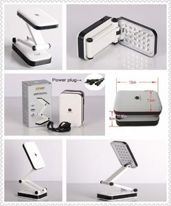 Folding Desk Led Table Lamp