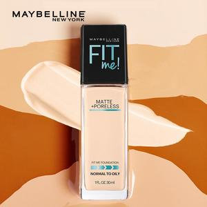 (IMPORTED) Maybelline New York Fit Me! (COLOR 112) Matte + Poreless Foundation