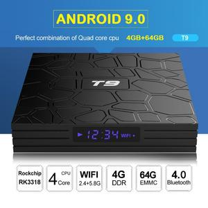 T9 (4GB-64GB) - Android 9.0 - Latest 2019 Model - Smart Android Tv Box