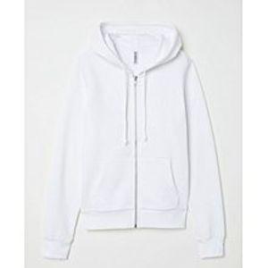 Abdul CollectionHooded Sweatshirt for Women Jacket - White