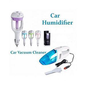 Arbiapk Pack Of 2 - Car Vacuum Cleaner &; Car Air Humidifier