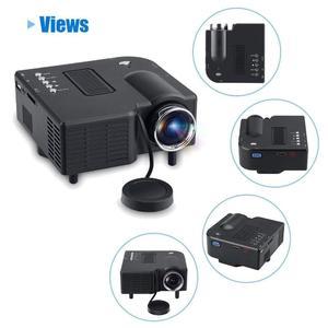 HGT UC28 Pro Mini Portable Projector Remote Controle (A)
