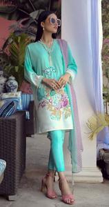 Sana Safinaz Muzlin Embroidered Unstitched Summer Spring Lawn for Women