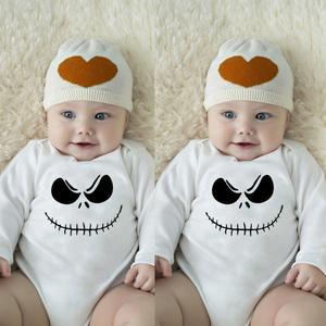 Stonershop Newborn Infant Baby Boys Girls Letter Print Romper Jumpsuit Outfits Clothes