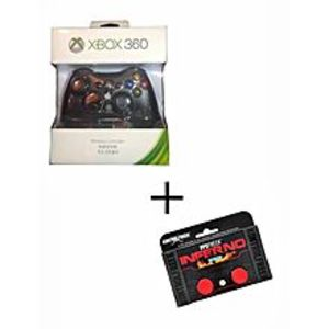 XboxXbox Wireless Controller For Xbox360 Plus Analog Extender - Black And Red