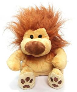 CUTE LION STUFFED TOY ( 10 INCHES LONG )