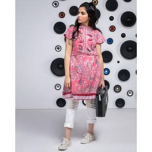 """Alkaram studio MAK Summer 2019 Vol-1 Pink Lawn 1 PC Unstitched Suit For Women -A132216509"""