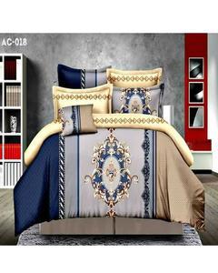 Blue Bed Sheet Ac 018