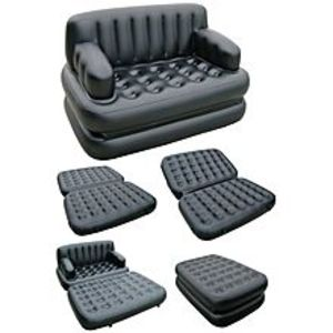 Daily Deals5-in-1 - Sofa Come Bed - Black