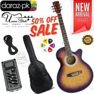 Electric Semi Acoustic Guitar Full Package Original ROGERS 50%OFF