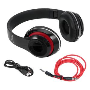 9LED Built IN TF/TF Professional Foldable Wireless Stereo Bluetooth Headphone