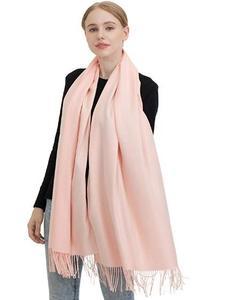 JAKY Global Cashmere Scarf Pashminas Wraps Shawl Super Soft Warm 78  x 27  Scarves Women Men