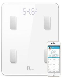 1byOne Smart Bluetooth Wireless Body Fat Scale With iOS & Android App Support