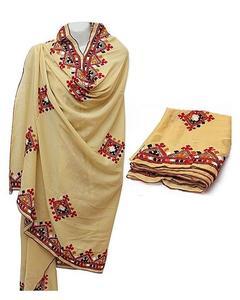 Black Sindhi Embroidered Shawls