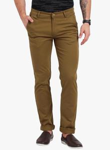 Chocolate Brown Stretchable Chinos