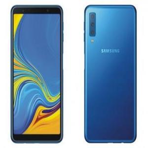 """Samsung Galaxy A7 2018 6.0"""" 128 GB 4 GB Fingerprint Scanner - Blue"""
