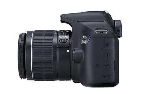 EOS 1300D - DSLR - Black