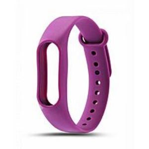 SiliconSlicone  Strap For Mi Band 2 - Purple