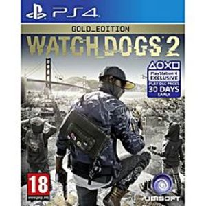 SonySony Playstation 4 Dvd Watch Dog 2 Gold Edition Ps4 Game