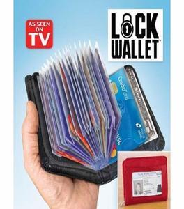 Lock Security Wallet-Black