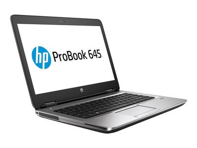 HP ProBook 645 G1 14   AMD A6 4350M  4 GB RAM 500 GB HDD and Laptop Adpator