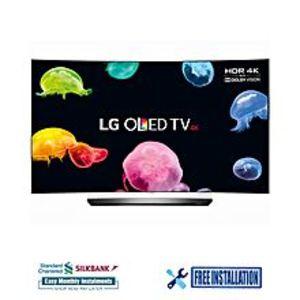 LG55C6V - Smart 4K 3D Curved OLED TV - 55'' - Grey