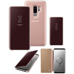 Original Samsung S9+/ Samsung Galaxy S9 Plus Clear View Cover Case/ Smart Cover - Gold
