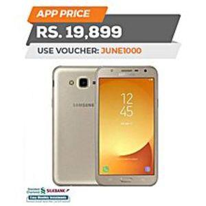 "SamsungJ7 Core - 5.5"" - 32GB ROM - 3GB RAM - Dual Messenger - Gold - 4G LTE"