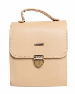 New Arrival Cross Body Ladies Hand Bag Beige