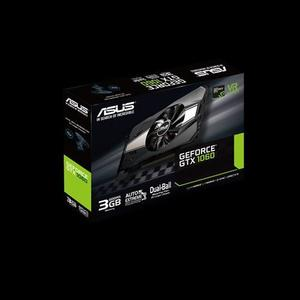 ASUS Phoenix GeForce® GTX 1060 3GB GDDR5 is the best for compact gaming PC build