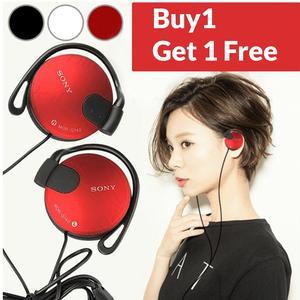 Sony MDR-Q140 Mini Headphones Handsfree - High Quality Sound Super Bass - Comfortable - Silver