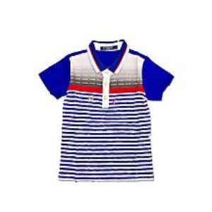 Tiny TodsRoyal Blue Cotton Jersey Polo Shirt