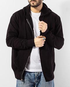 Black Fleece Zipper Hoodie