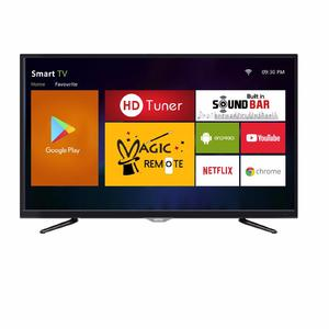 "AKIRA Singapore 40MS1301 40"" Android Full HD LED TV with Built-in Satellite Receiver & HD Tuner - Black"