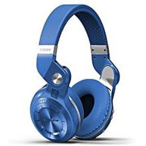 BLUEDIOT2 Plus Turbine Bluetooth Wireless Stereo Headphones with Microphone