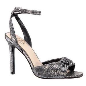beautiful gray color heel sandal shoes for female