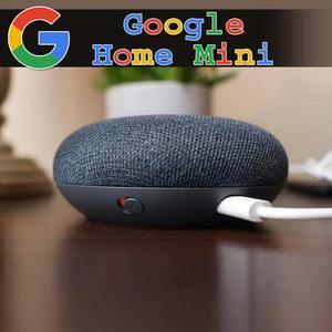 Google Home Mini Speaker Wireless  - Black