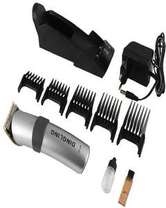 Rf-609 Dingling New Professional Electric Hair Clipper Shaver Trimmer - Silver