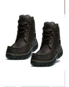 Brown Rexine Sneakers For Men
