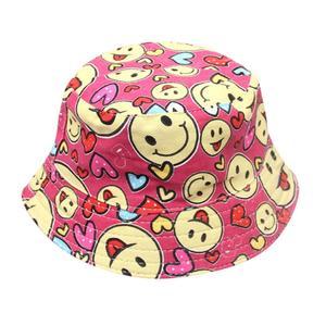 Duang Duang Toddler Baby Kids Boys Girls Floral Pattern Bucket Hats Sun Helmet Cap