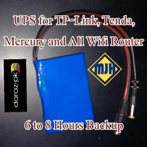 UPS for TP-Link, Tenda, D-Link and all WiFi Routers