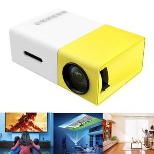 Mini Projector, Portable LED Projector Home Cinema Theater with PC Laptop USB/SD/AV/HDMI Pocket Projector for Video Movie Game Home Entertainment Projector