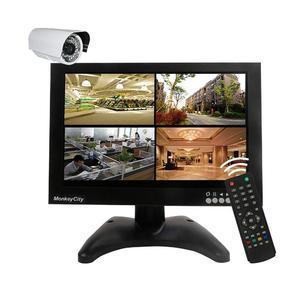 MonkeyCity 10.1 Inch 1280x800 IPS CCTV Monitor with BNC HDMI VGA AV USB