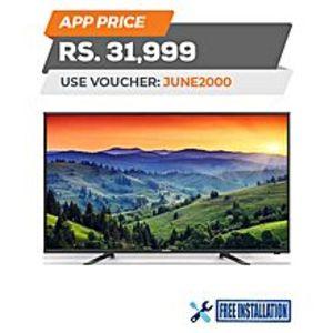 """HaierFull HD LED TV - 40"""" - Black"""