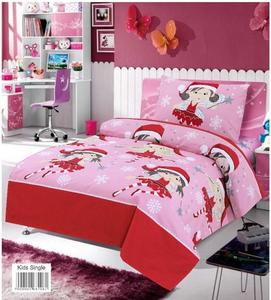 Kids Single Premium Bed Sheets-Multi-color