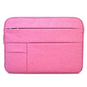 Universal Multiple Pockets Wearable Oxford Cloth Soft Portable Leisurely Laptop Tablet Bag, For 15.6 inch and Below Macbook, Samsung, Lenovo, Sony, DELL Alienware, CHUWI, ASUS, HP (Magenta)