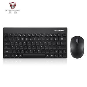Motospeed G3000 2.4GHZ Wireless Lightweight 1600DPI Keyboard Mouse Set For PC black