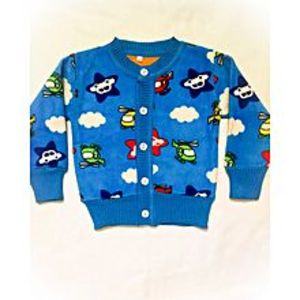 Wardrobe Desire Winter Collection Little Star Sweater for Kids Blue