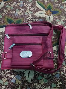 Fancy Shoulder Bag Dark Pink - 5 Pockets - Purse - Hand Bag - Hanging Bag - Ladies Clutch, Ladies Purse, Fancy Clutch, Fancy Bag, For Girls, Hand Clutch, Hand Purse, Ladies Handbag, clutches, fancy handbag, handbag for girls, fancy hand bag, bags
