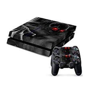 SonyDark Soul Skeleton PS4 PlayStation 4 Skin Protector - Black